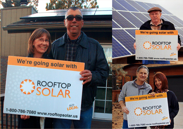 Rooftop Solar customers